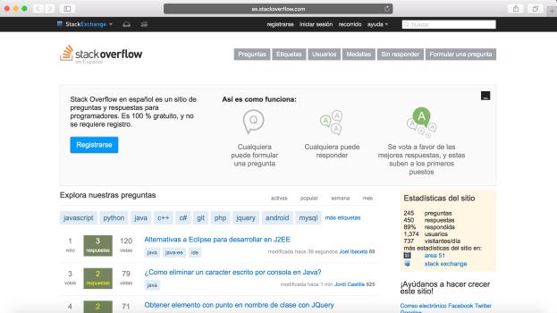 StackOverflow en Español