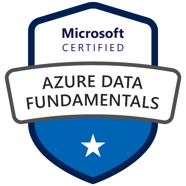 Microsoft Certified Azure Data Fundamentals
